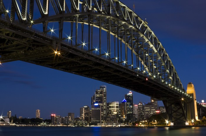 The Iconic Harbour Bridge in Sydney, Australia Vinyl Wallpaper - Themes