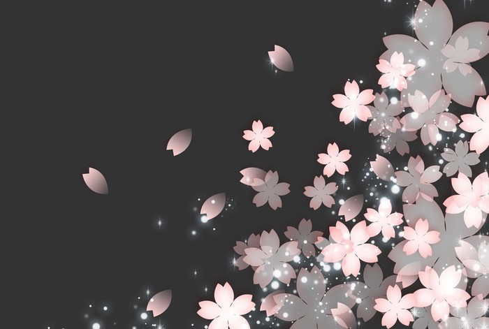 Vinylová Tapeta Sakurai の pozadí - Roční období