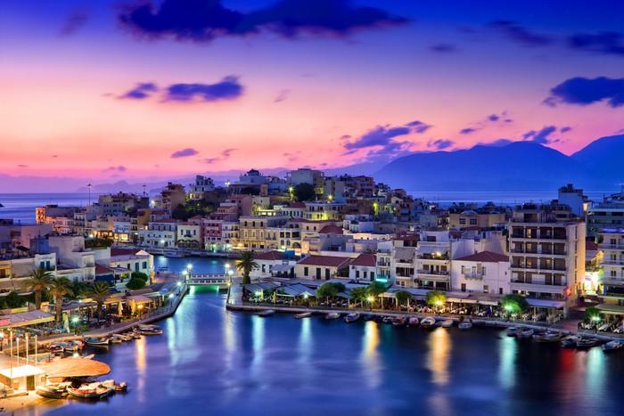 Leinwandbild Agios Nikolaos - Themen