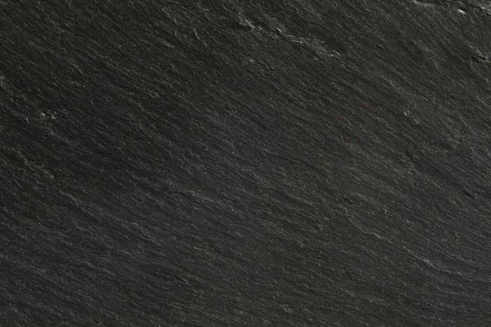 black slate texture. Closeup Texture Of Black Slate Vinyl Wall Mural - Raw Materials T