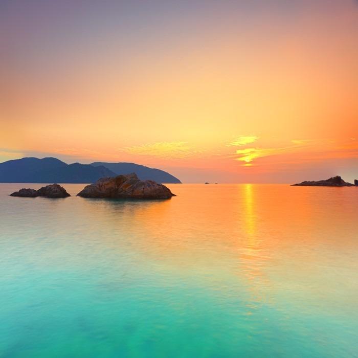 Obraz na Płótnie Wschód słońca - Tematy