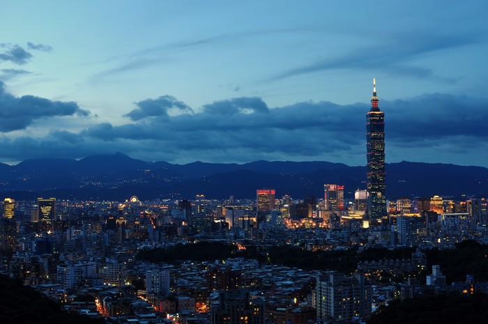 Vinylová Tapeta Taipei101 - Asie