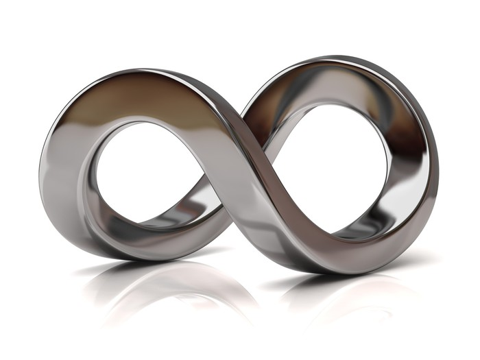 Silver Infinity Symbol Wall Mural Pixers We Live To Change