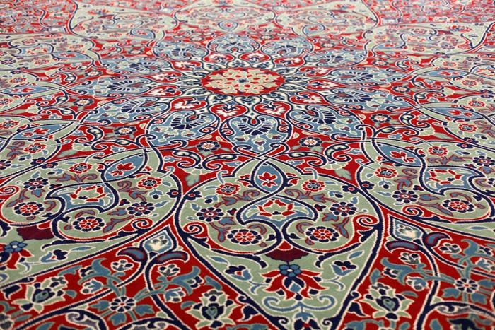 Nálepka Pixerstick Krásný orientální koberec v mešitě, Istanbul Turecko - Střední Východ