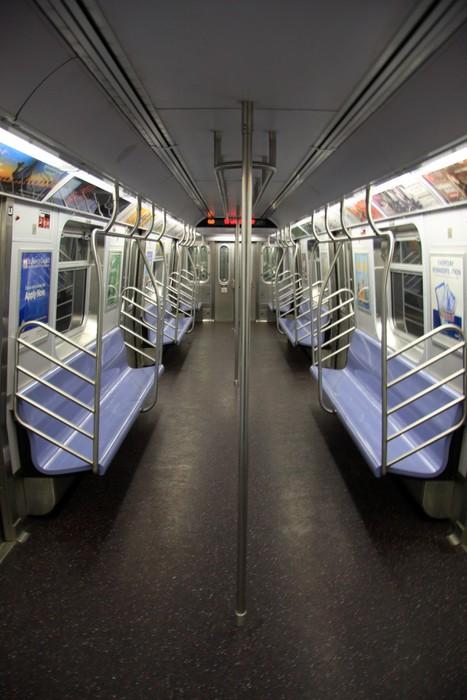 Vinylová Tapeta NYC Subway - Amerika