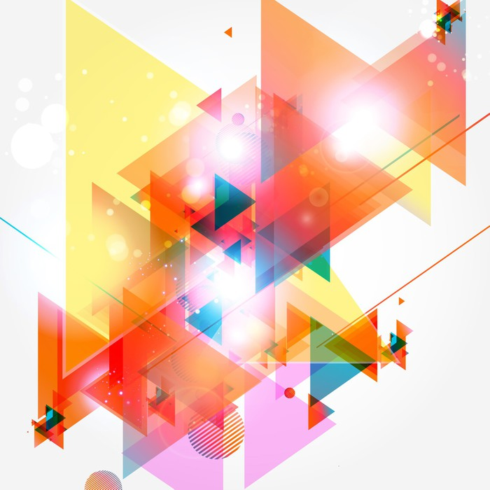 Abstract Background Vector Wall Mural - Vinyl - Styles