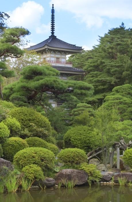 Vinylová Tapeta Rinoji chrám - Asie
