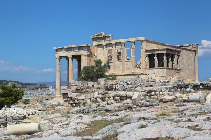 Vinylová Tapeta Acropolis Erechtheum, Aténách Řecko - Evropa