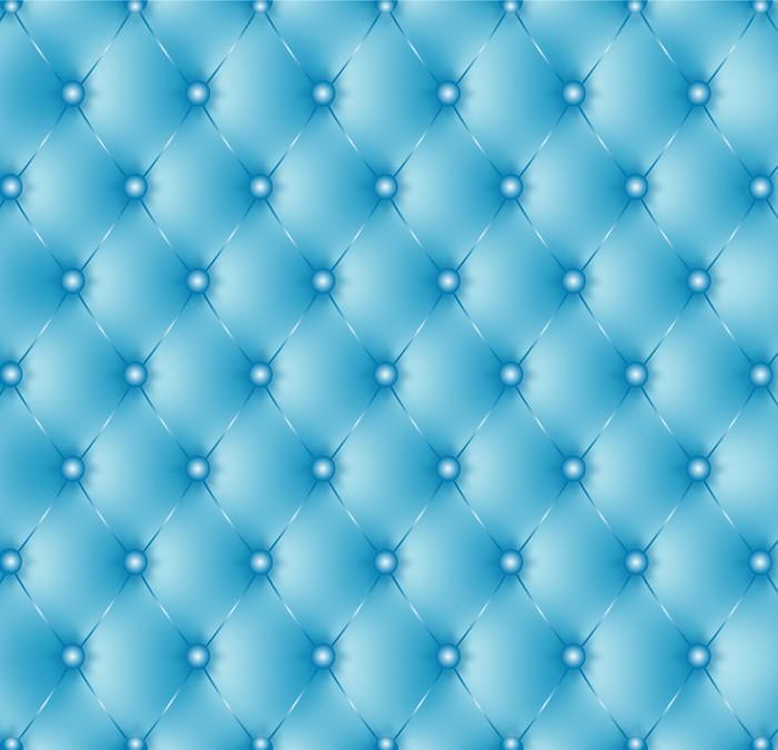 Papier Peint Vinyle Capitonné bleu-1 - Styles