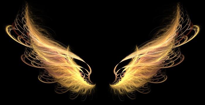 Demon Angel Fire Hell Wings Wall Mural Pixers 174 We Live