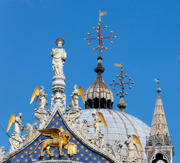 Vinylová Tapeta San Marko, katedrála, Benátky - Evropská města