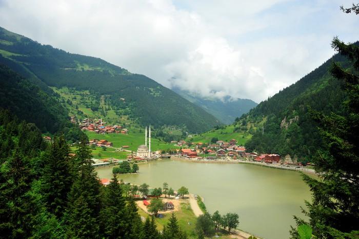Vinylová Tapeta Uzungöl Trabzon - Lesy