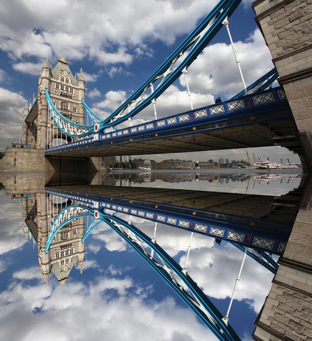 Vinyl-Fototapete Famous Tower Bridge, London, UK - Themen