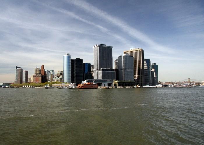 Vinylová Tapeta New york skyline - Amerika