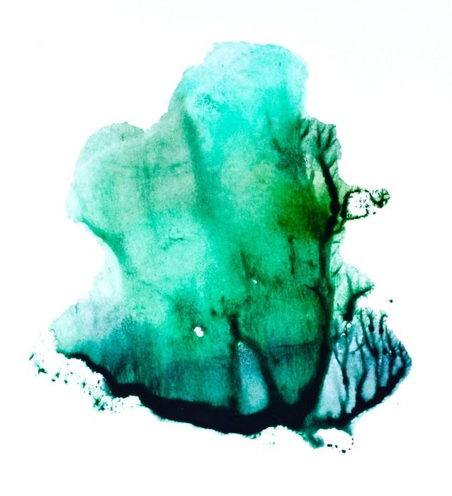 Vinylová fototapeta Abstraktní akvarel ručně malovaná pozadí - Vinylová fototapeta