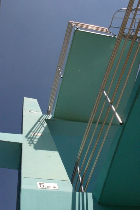 Vinylová Tapeta Sprungturm - Soukromé budovy