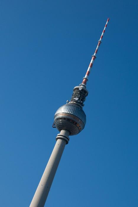 Vinylová Tapeta Televizní věž Berlín - Evropská města