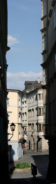 Vinylová Tapeta Starého města Lince - Evropa