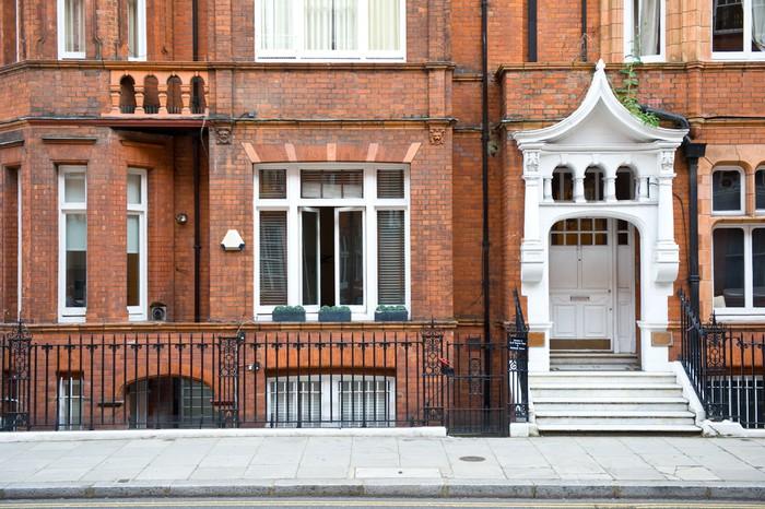 Vinylová Tapeta Chelsea elegantní bytový dům. Londýn, Spojené Království. - Evropská města