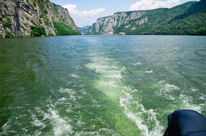 Vinylová Tapeta Dunaj - Evropa