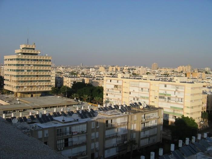 Vinylová Tapeta Obec hulon, Tel Aviv, Izrael - Město