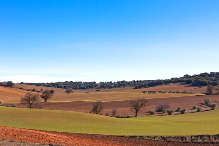 Papel Pintado Castilla La Mancha Espa A En El Invierno