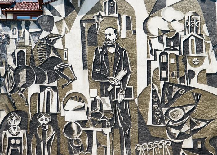 Vinylová Tapeta Hristo Danova Mural Ve staré Plovdiv, Bulharsko - Evropa