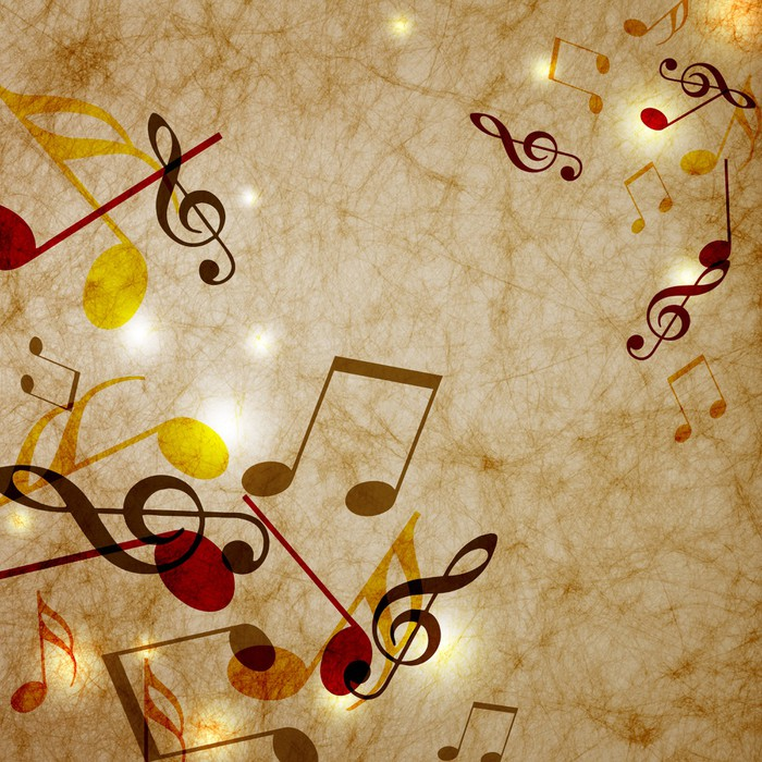 Vinylová Tapeta Hudba - Hudba
