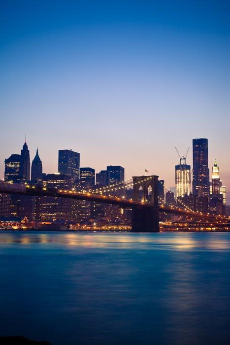 Vinylová Tapeta Brooklyn Bridge v New Yorku - New York