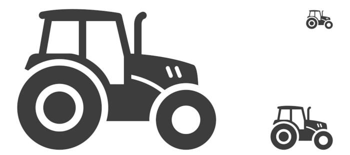 fototapete traktor pixers wir leben um zu ver ndern. Black Bedroom Furniture Sets. Home Design Ideas