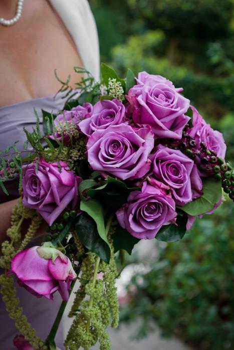 Vinylová Tapeta Svatební kytice - Květiny