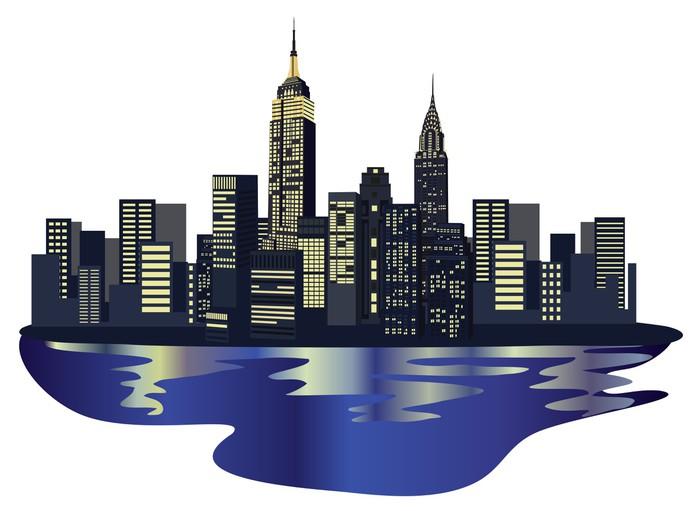 Vinilo pixerstick new york rascacielos pixers vivimos for Vinilos pared new york