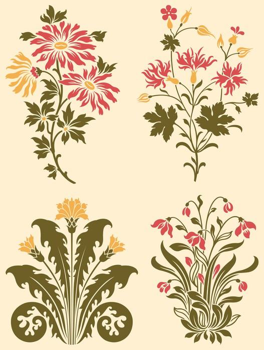 papier peint wildflowers d coratifs pixers nous. Black Bedroom Furniture Sets. Home Design Ideas