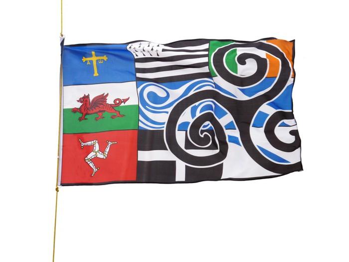 Plakát Drapeau celte - Značky a symboly