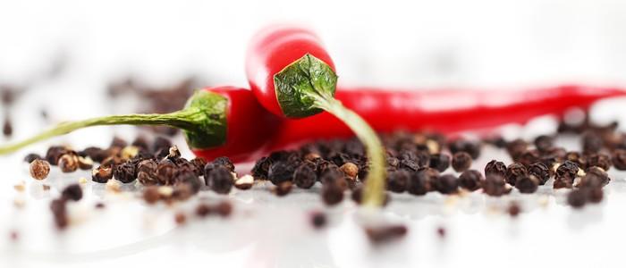 Vinylová Tapeta Červená chilli papričkou - iStaging