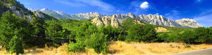 Vinylová Tapeta Jižní část poloostrova Krym, hory Ai-Petri - Hory