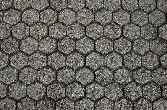 Vinylová Tapeta Textury vozovky - Struktury