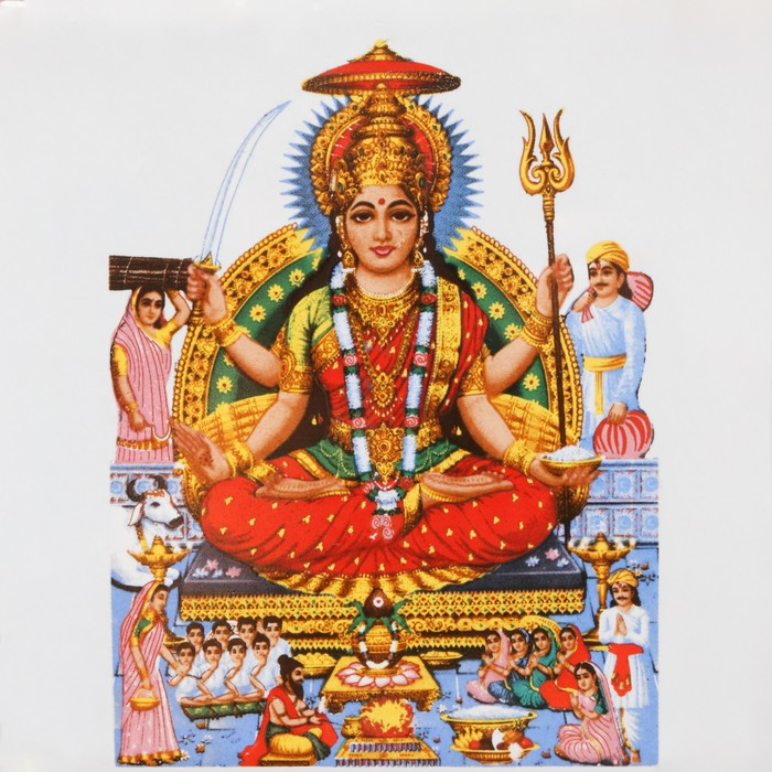 Parvati, hinduska bogini miłości i oddania