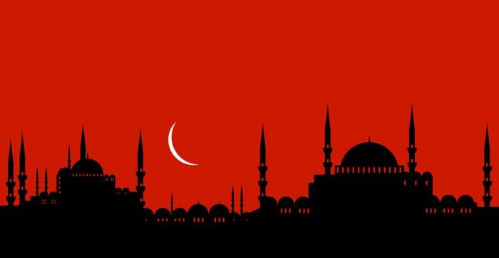Vinylová Tapeta Město - turecko - Střední Východ