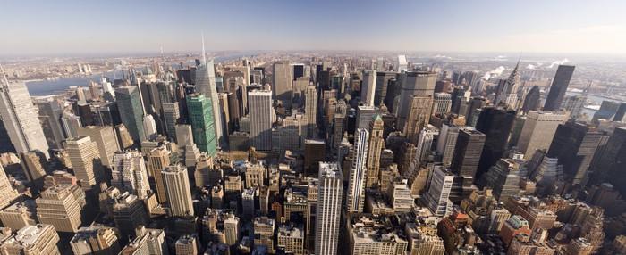Carta da parati new york downtown pixers viviamo per for Carta da parati new york ebay