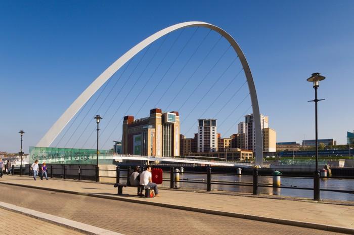 Vinylová Tapeta Gateshead Millennium Bridge arch. - Prázdniny