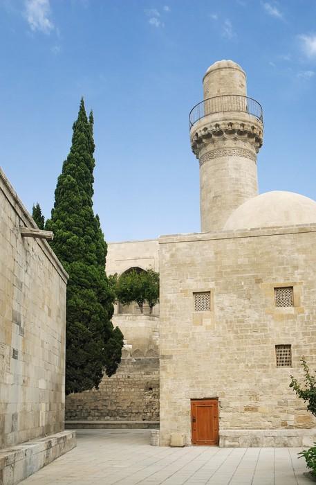 Nálepka Pixerstick Mešita v Baku Ázerbájdžán - Střední Východ