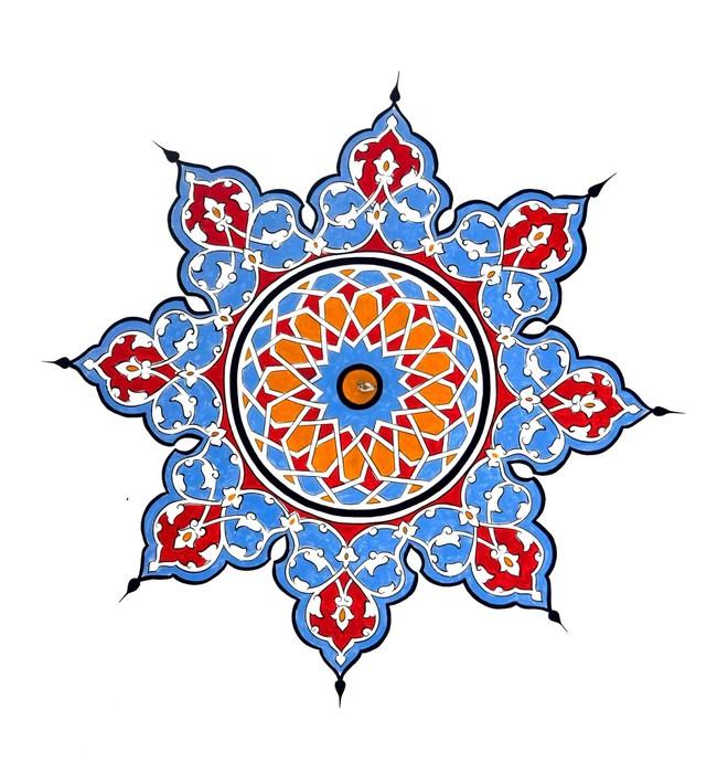 Papier peint turquie ottomane traditionnelle motif for Motif peinture