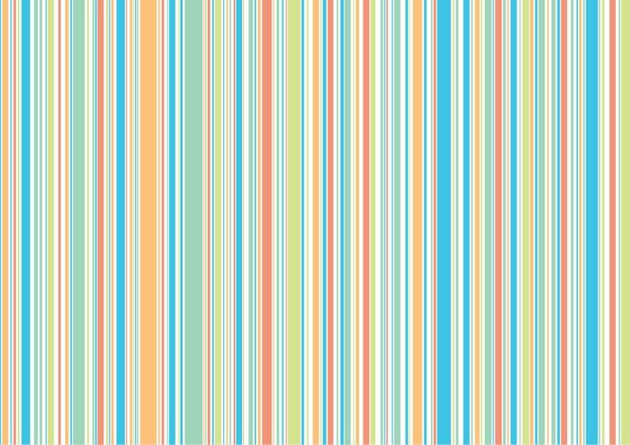 Carta da parati blu arancione verde spiaggia strisce for Carta parati strisce