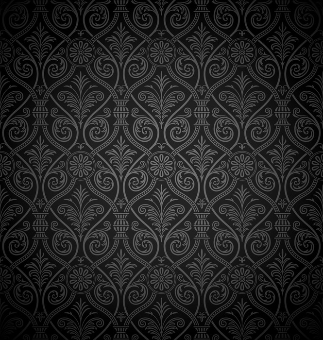 Gothic Pattern Seamless Damask Sticker O PixersR We Live To Change