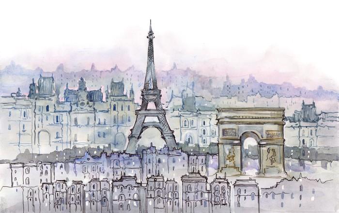 Papier Peint Vinyle Parisiens - Thèmes