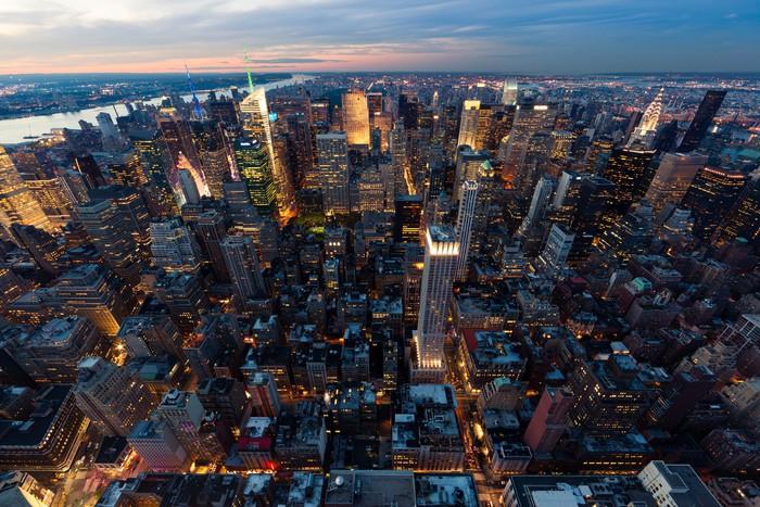 Carta da parati new york pixers viviamo per il for Carta da parati new york ebay