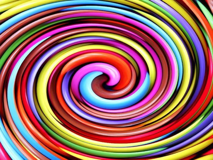 Fotomural psicod lico giro pixers vivimos para cambiar - Fotomurales pixel ...