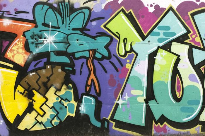 Vinylová Tapeta Graffiti Cocodrilo - Témata