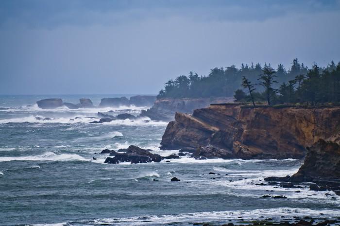 Vinylová Tapeta Oregon coast - Přírodní krásy